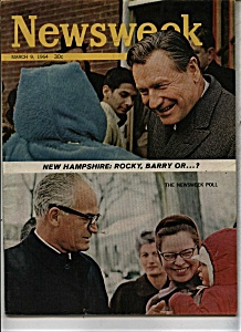 Newsweek Magazine - March 9, 1964 (Image1)