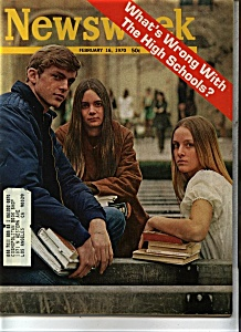 Newsweek magazine- February 16, 1970 (Image1)