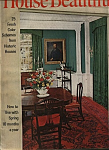 House Beautiful magazine -  March 1963 (Image1)