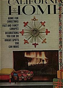 California Home Magazine - December 1964 (Image1)
