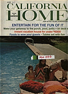 California Home Magazine - June 1967