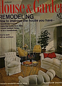 House & Garden Magazine - August 1966 (Image1)