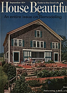 House Beautiful Magazine - September  1963 (Image1)