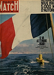 Paris Match Magazine - 28 Juillet 1962 (Image1)