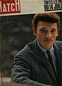 Paris Match Magazine- 21 Juiillet 1962 (Image1)