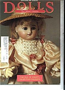 DOLLS, The collector's Magazine- March/April 1986 (Image1)