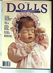 DOLLS,  The Collector's Magazine - March 1991 (Image1)