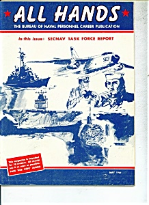 Usn - All Hands Magazine- May 1961