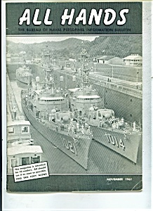All Hands Magazine- Us Navy - November 1961