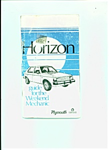 Horizon Car Manual -Guide for the weekend mechanic (Image1)