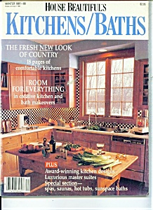 House Beautiful's Kitchens/Baths =  Winter 1987 (Image1)