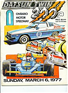 Datsun Twin 200 - Ontario Motor speedway - March 6, 197 (Image1)