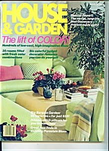 House & Garden - March 1980 (Image1)