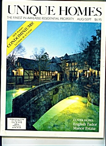Unique Homes   Aug/Sept.  1983 (Image1)