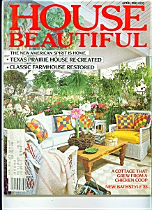 House Beautiful Magazine April 1983