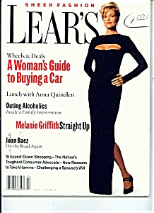 Lear's Sheer fashion magazine -  April 1993 (Image1)