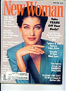 New Woman magazine - April 1990 (Image1)