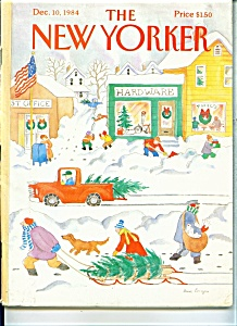 The New Yorker Magazine -dec. 10, 1984