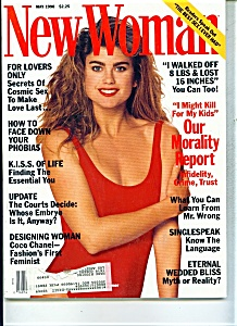 New Woman Magazine - May 1990 (Image1)