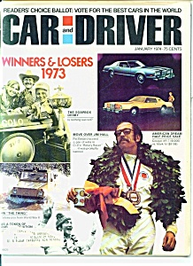 Car and Driver magazine - January 1974 (Image1)