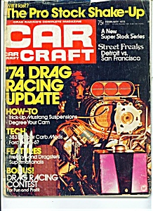 Car Craft Magazine -  February 1974 (Image1)