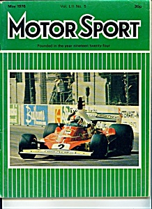 Motor Sport magazine - May 1976 (Image1)
