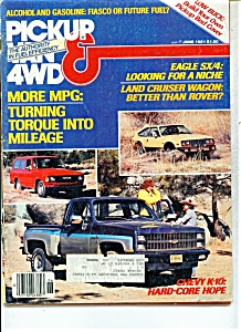 Pickup Van & 4 WD Magazine - June 1981 (Image1)