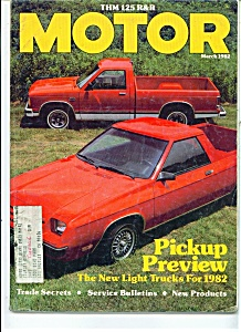 MOTOR Magazine - March 1982 (Image1)