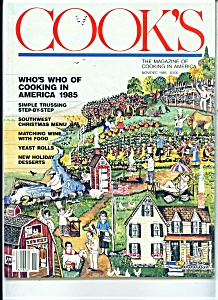 COOK'S magazine -  Nov/Dec. 1985 (Image1)
