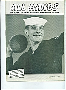 USS Navy - All Hands magazine - /september 1951 (Image1)