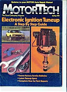 Motor Tech Magazine - Spring 1981 (Image1)