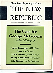 The New Republic Magazine - Feb. 26, 1972