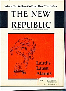 The New Republic magazine - March 25, 1972 (Image1)