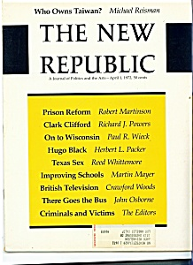 The New Republic - April 1, 1972 (Image1)