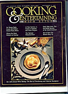 Cooking & Entertaining With Style - Nov. 8, 1987