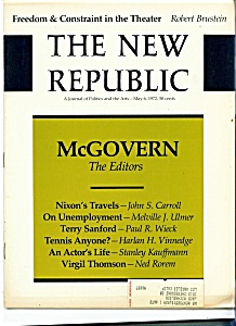 The New Republic magazine - May 6, 1972 (Image1)