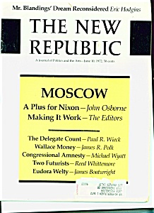 The New Republic magazine - June 10, 1972 (Image1)