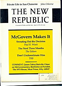 The New Republic magazine- July 22, 1972 (Image1)