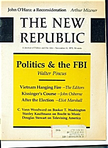 The New Republic magazine - November 11, 1972 (Image1)