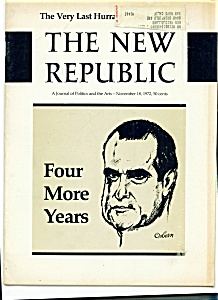The New Republic magazine - November 18, 1972 (Image1)