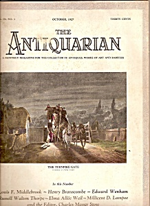 The Antiquarian -october 1927