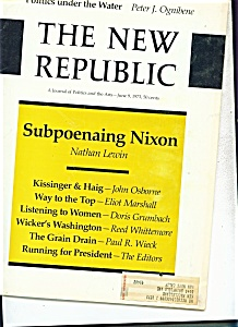 The New REpublic magazine - June 9, 1973 (Image1)