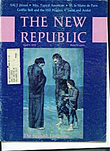 The New Republic magazine - April 9, 1977 (Image1)