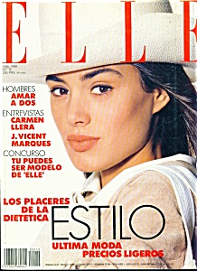 Elle Magazine - April 1988