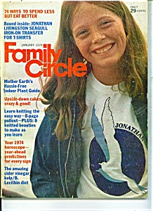 Family Circle Magazine - January  1974 (Image1)