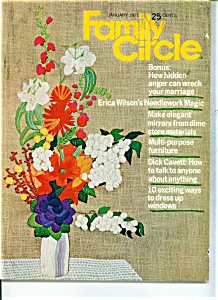 Family Circle magazine - January 1971 (Image1)