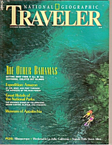 National Geographic traveler - Nov./Dec 1993 (Image1)