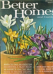 Better Homes And Gardens Magazine - February 1969