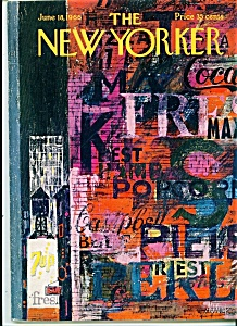 The New Yorker Magazine- June 18, 1966 (Image1)