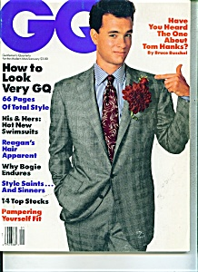 GQ (Gentlemens Quarterly) magazine - January 1988 (Image1)